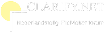 Clarify::Nederlandstalig FileMaker Forum