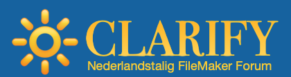 Clarify - Nederlandstalig FileMaker Forum